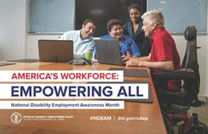 How Will You Celebrate National Disability Employment Awareness Month?