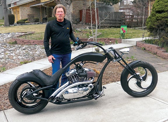 Custom-Built Single Handed Sportster Is A Team Effort