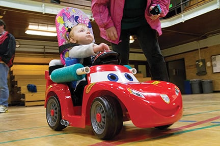 Mobility Plays Important Role In Development For Toddlers With Disabilities