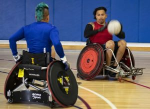 Retired Soldiers Benefit From Wheelchair Rugby