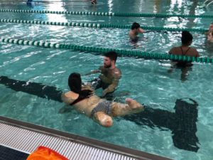 First Swim Event Leads to First Friday Swims