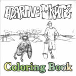 Adaptive Skate Coloring Book
