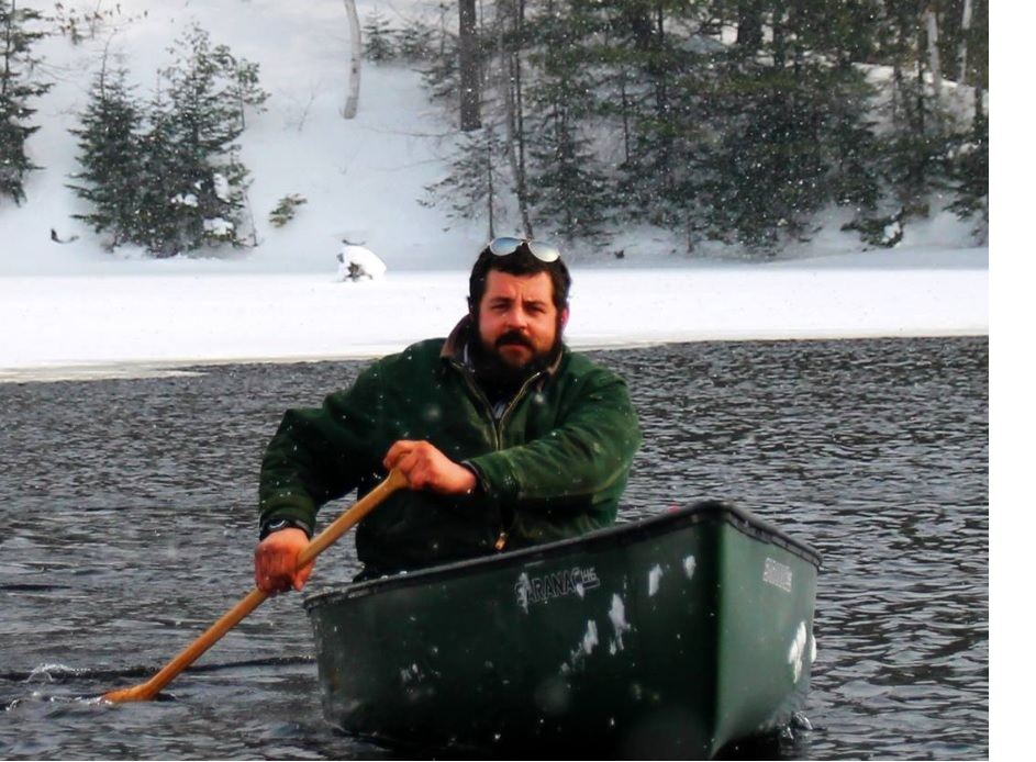 Double amputee Nate Denofre, head of Courage Incorporated, is canoeing the Mississippi River for Paddling to Persevere