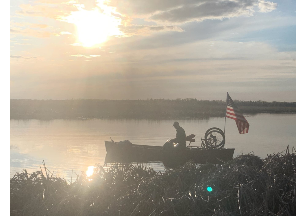 Bilateral amputee Nate Denofre and disabled veteran Don Jokinen are canoeing the Mississippi River: Paddling to Persevere.