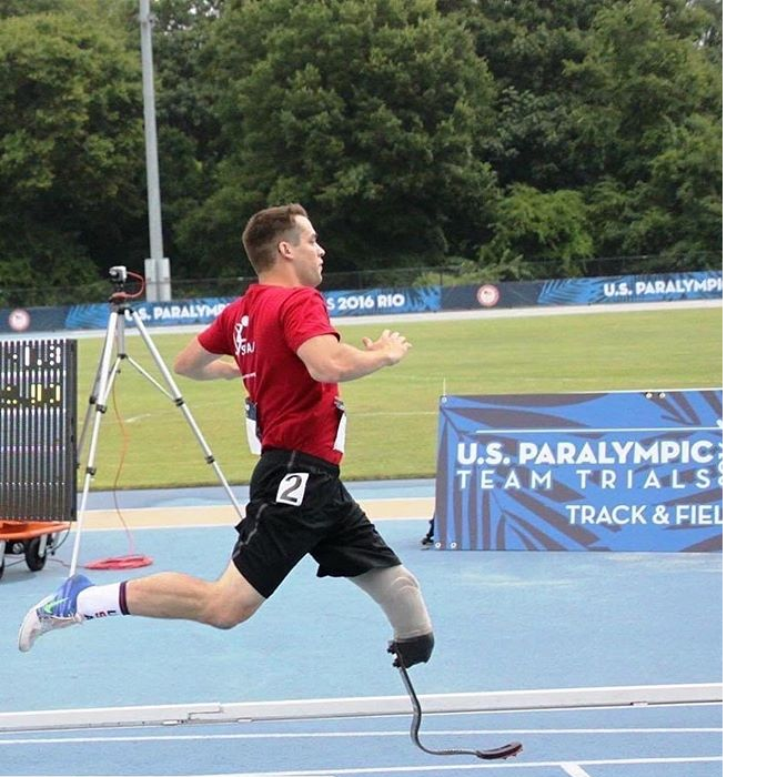 Anthony Quinn is an amputee and an adaptive athlete who is competing for the 2021 Paralympic Games.