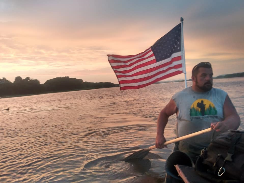 Paddling to Persevere amputee canoeist Nate Denofre
