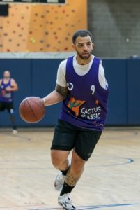 Amputee Basketball Player Troy Druppal Stands Tall and Flies High