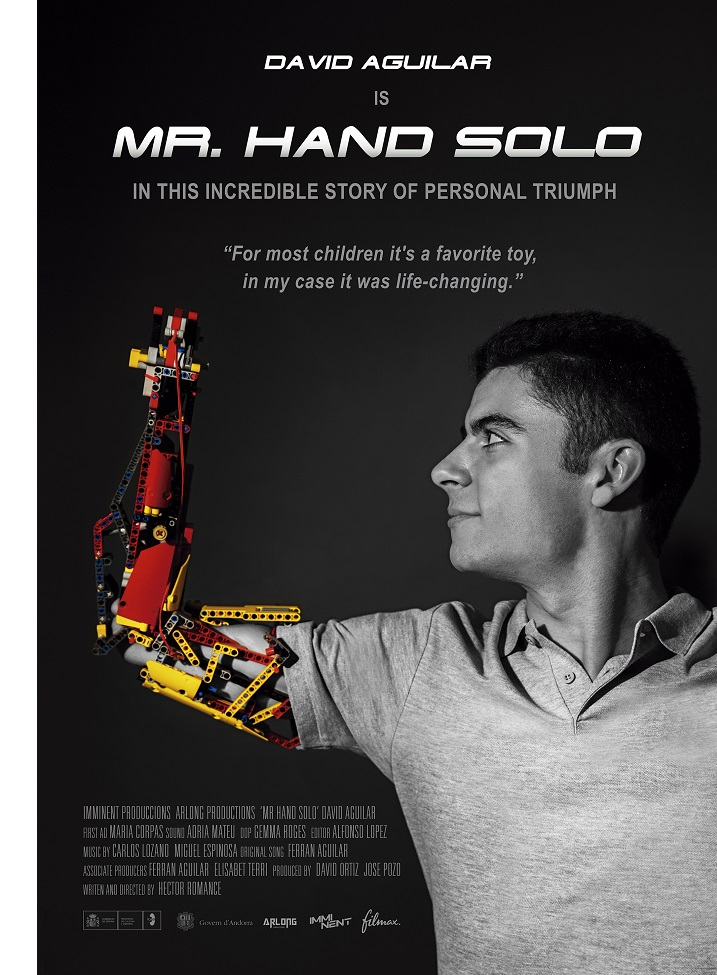 Mr. Hand Solo amputee movie David Aguilar