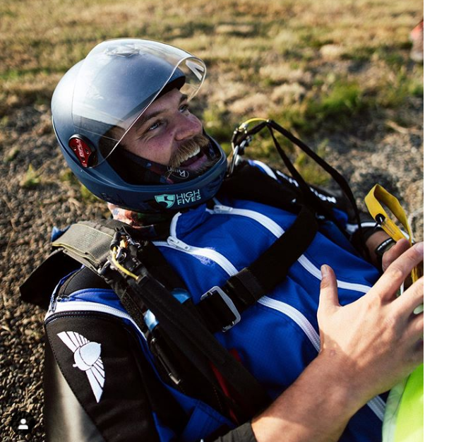 Tyler Turner is an amputee skydiver and wingsuit pilot.