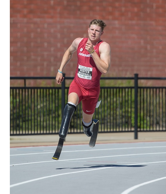Road to Tokyo: Hunter Woodhall Gets Back to Business