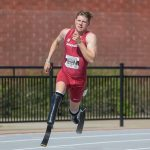 Hunter Woodhall Gets Back to Business