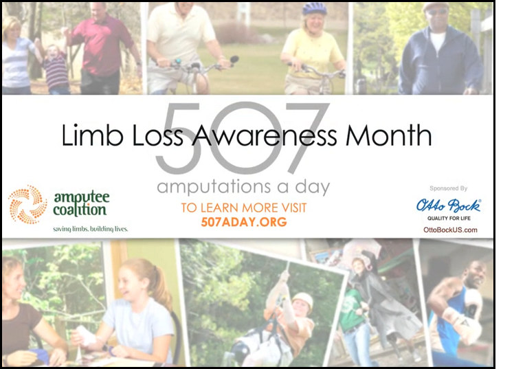 Limb Loss Awareness Month Turns Ten